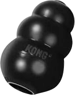 Dog toy black kong
